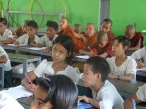 Ein Bild aus dem Schulalltag